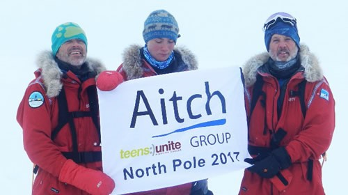 Henry Smith treks to the North Pole