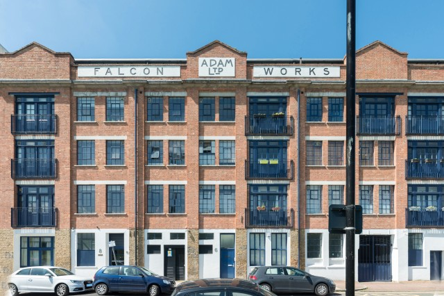 Falcon Works, Mile End